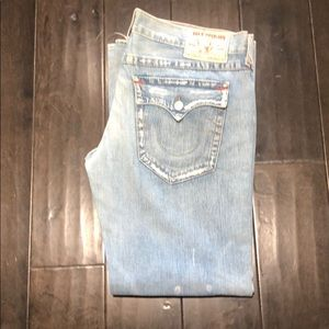 Mens true  religion  Joey denim jeans
